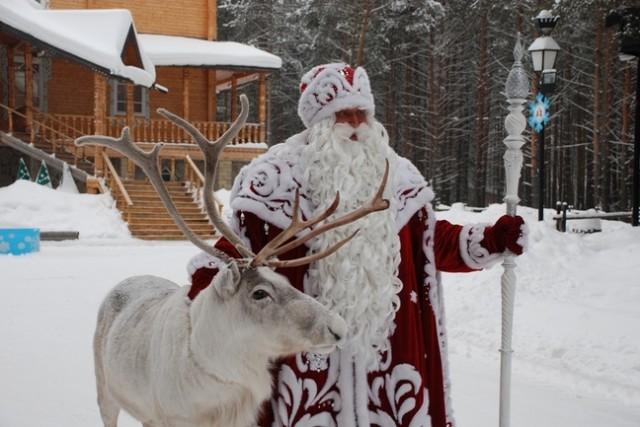 День рождения Деда Мороза отметили в детском саду «Солнышко»
